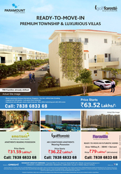 Get the luxury Villas in greater Noida.
