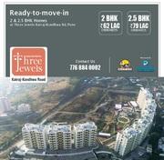 2 BHK Flats For Sale in Three Jewels At Katraj Kondhwa Road