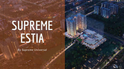 Supreme Estia - Supreme Estia Baner,  Pune